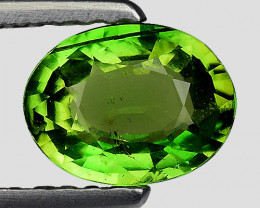 0.76 Ct Chrome Tourmaline Good Quality Gemstone. CTM 03