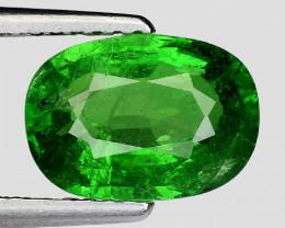 2.39 Ct Tsavorite Garnet Sparkling Luster Gemstone TS 92