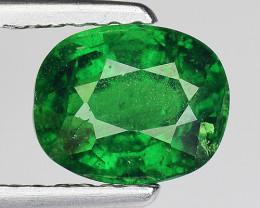 1.51 Ct Tsavorite Garnet Sparkling Luster Gemstone TS 106