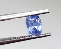 1.37ct  Blue  Sapphire , 100% Natural Untreated Gemst