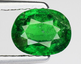 1.32 Ct Tsavorite Garnet Sparkling Luster Gemstone TS 111
