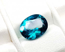 4.05Crt Green Topaz Natural Gemstones JI87