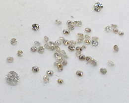 0.80ct  Diamond Parcel , 100% Natural Untreated