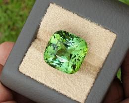 Green tourmaline.  34.93 carats. Spectacular color.