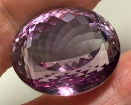 32.80ct Fabulous Pink Mauve Gold Ametrine Amethyst - VVS