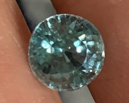 1.65ct Beautiful Blue Zircon  Gem  -No reserve