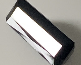 6.50ct Large Black Tourmaline - No reserve - Fabulous size