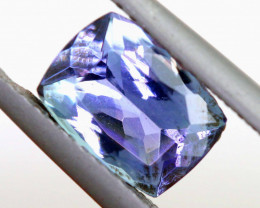 1.55CTS-TANZANITE  FACETED GEMSTONE RNG-11