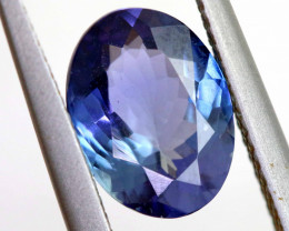 2.65  CTS- OCEAN TANZANITE  FACETED GEMSTONE  RNG-14