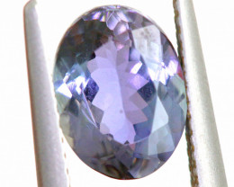 2.40 CTS-OCEAN TANZANITE  FACETED GEMSTONE RNG-15