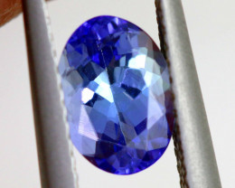 1.35 CTS TANZANITE FACETED GEMSTONE  RNG-25