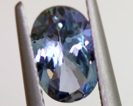 1.30 CTS-TANZANITE FACETED GEMSTONE RNG-35