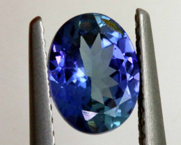 1.35 CTS-TANZANITE  FACETED GEMSTONE RNG-36
