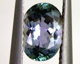 1.30 CTS-TANZANITE  FACETED GEMSTONE RNG-38