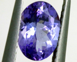 1.15 CTS -TANZANITE FACETED  GEMSTONE RNG-39
