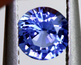 0.58 CTS TANZANITE FACETED  GEMSTONE RNG-70