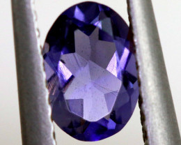 0.55 CTS-TANZANITE FACETED GEMSTONE RNG-86