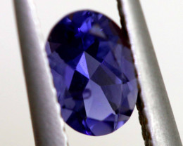 0.60 CTS -TANZANITE FACETED GEMSTONE RNG-87