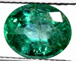 2.45 CTS  COLOMBIAN EMERALD GEMSTONE  AUM-5