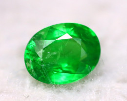 Tsavorite 1.40Ct Natural Intense Vivid Green Color Tsavorite Garnet DN37