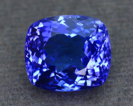 AAA Grade 5.02 ct Tanzanite eye catching Color SKU.22