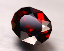 Almandine 7.16Ct Natural Vivid Blood Red Almandine Garnet DR64/E45