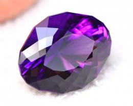 Amethyst 26.27Ct Natural Rare Pink Puple Amethyst Precision Cut DR69