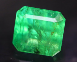 Zambian Emerald 3.26Ct Natural Green Color Zambian Emerald A2512