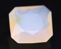 Fire Opal 3.84Ct Natural Faceted Mexican Yellow Fire Opal A2521