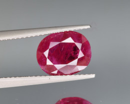 Natural ruby 3.76 Cts Top Quality from Tajikistan
