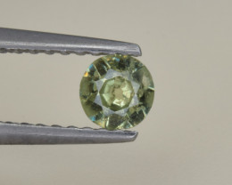 Natural Demantoid Garnet 0.26 Cts, Full Sparkle Faceted Gemstone