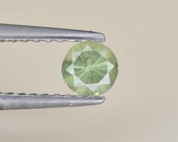 Natural Demantoid Garnet 0.27 Cts, Full Sparkle Faceted Gemstone