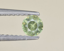 Natural Demantoid Garnet 0.27 Cts, Full Sparkle Faceted Gemstone