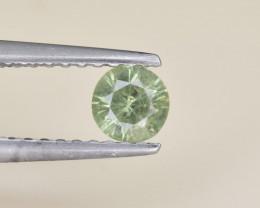 Natural Demantoid Garnet 0.31 Cts, Full Sparkle Faceted Gemstone