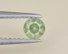 Natural Demantoid Garnet 0.32 Cts, Full Sparkle Faceted Gemstone