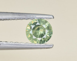 Natural Demantoid Garnet 0.36 Cts, Full Sparkle Faceted Gemstone