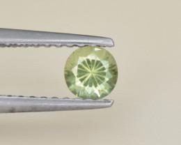 Natural Demantoid Garnet 0.37 Cts, Full Sparkle Faceted Gemstone