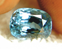 4.71 Carat Blue Southeast Asian VVS1 Zircon - Gorgeous