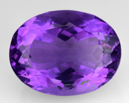 11.40 Ct  Natural Amethyst Top Cutting Top Quality Gemstone. AT 76