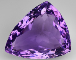 10.26 Ct  Natural Amethyst Top Cutting Top Quality Gemstone. AT 78