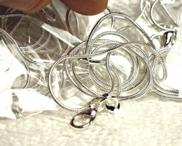 Sterling Silver Chains - 20 inches - 5 Chains