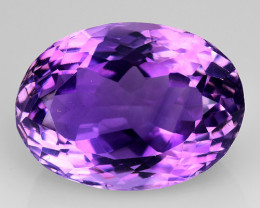 8.61 Ct  Natural Amethyst Top Cutting Top Quality Gemstone. AT 83