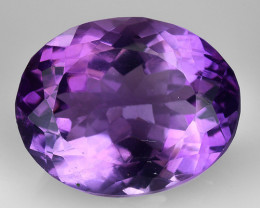 9.02 Ct  Natural Amethyst Top Cutting Top Quality Gemstone. AT 85