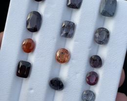 23 Carats Natural Spinel Gemstones parcel