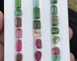 32 Carats Tourmaline Gemstones parcel