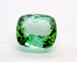 FLAWLESS 9.65 GREEN SPODUMENE JEWELRY QUALITY