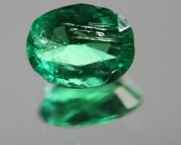 Panjshir Emerald .80ct Natural Oval