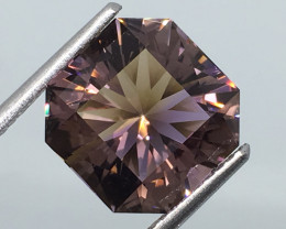 4.24 Carat VVS Ametrine Master Cut Rich Color Flash !