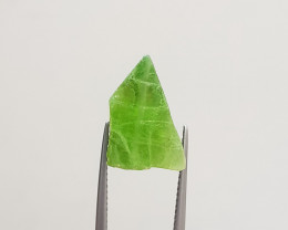 16.20cts Green Color Peridot Crystal From PAK