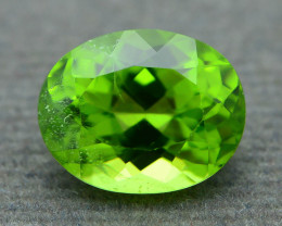 Exquisit Color 3.63 ct Peridot From Burma  Sku-6